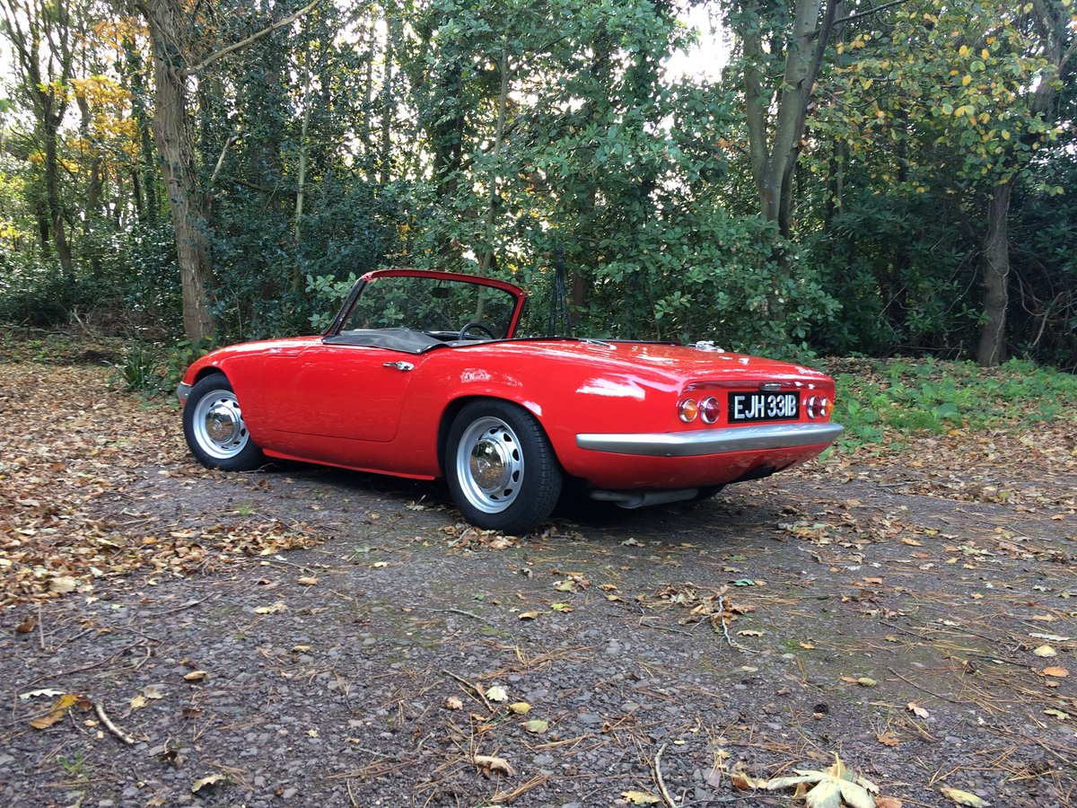 1964 LOTUS ELAN S2 For Sale (picture 7 of 10)