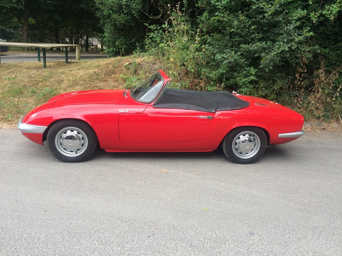 1964 LOTUS ELAN S2 For Sale (picture 9 of 10)