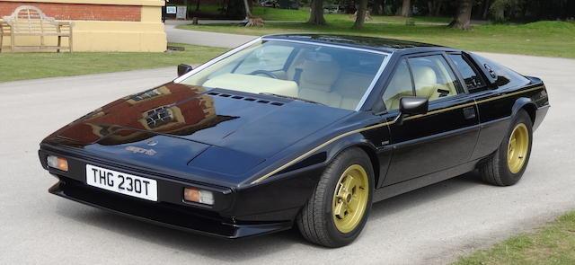 1979 LOTUS ESPRIT S2 For Sale by Auction