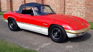 1972 Lotus Elan Sprint Drop Head Coupe  Owned 1981 £35k Spent