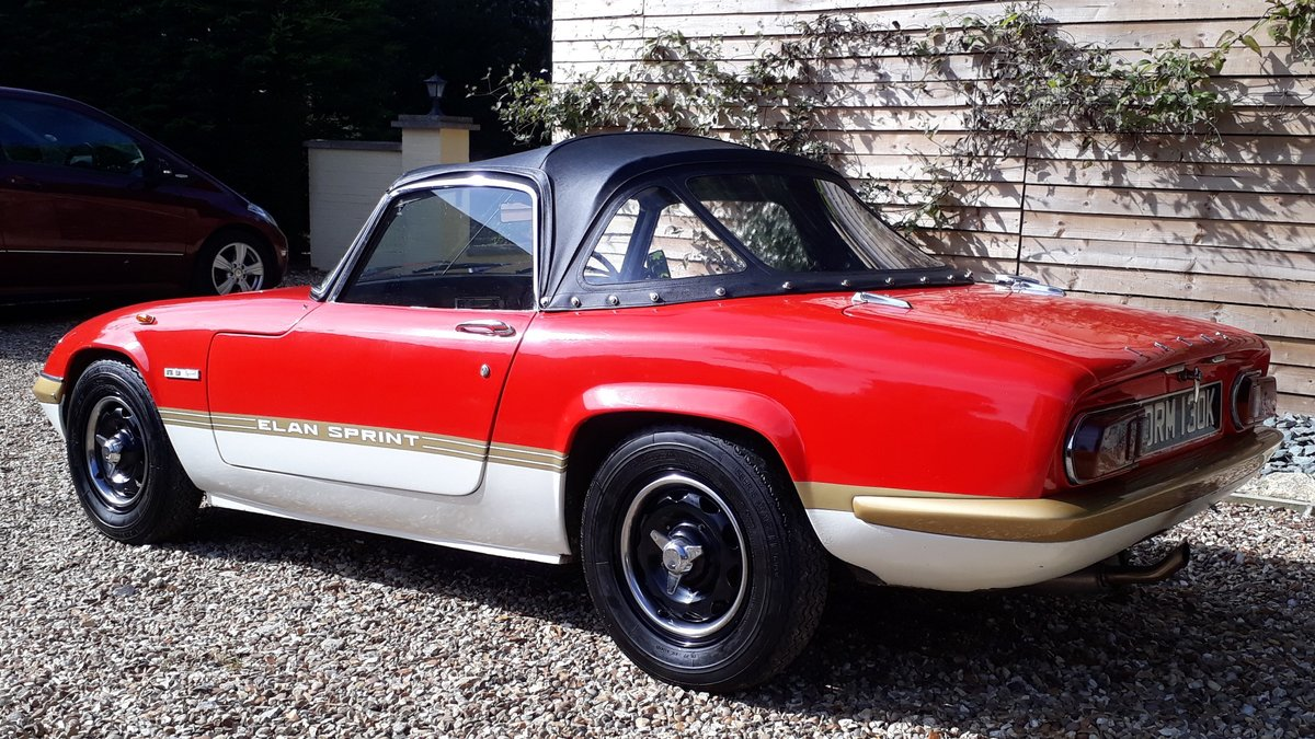 Lotus Elan Sprint Drop Head Coupe 1972 Owned 1981 £35k Spent For Sale (picture 2 of 6)