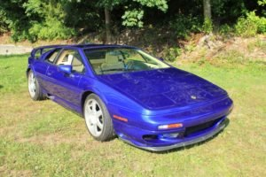 1998 Lotus Turbo Esprit low 10k miles Rare Azure Blue $54.9k For Sale