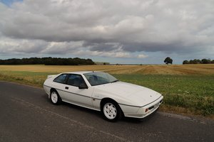 Lotus Excel SE, 1987.    Superb example in Monaco White with