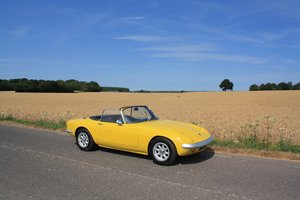 Lotus Elan S3 DHC, 1967.   Stunning example in Lotus Yellow