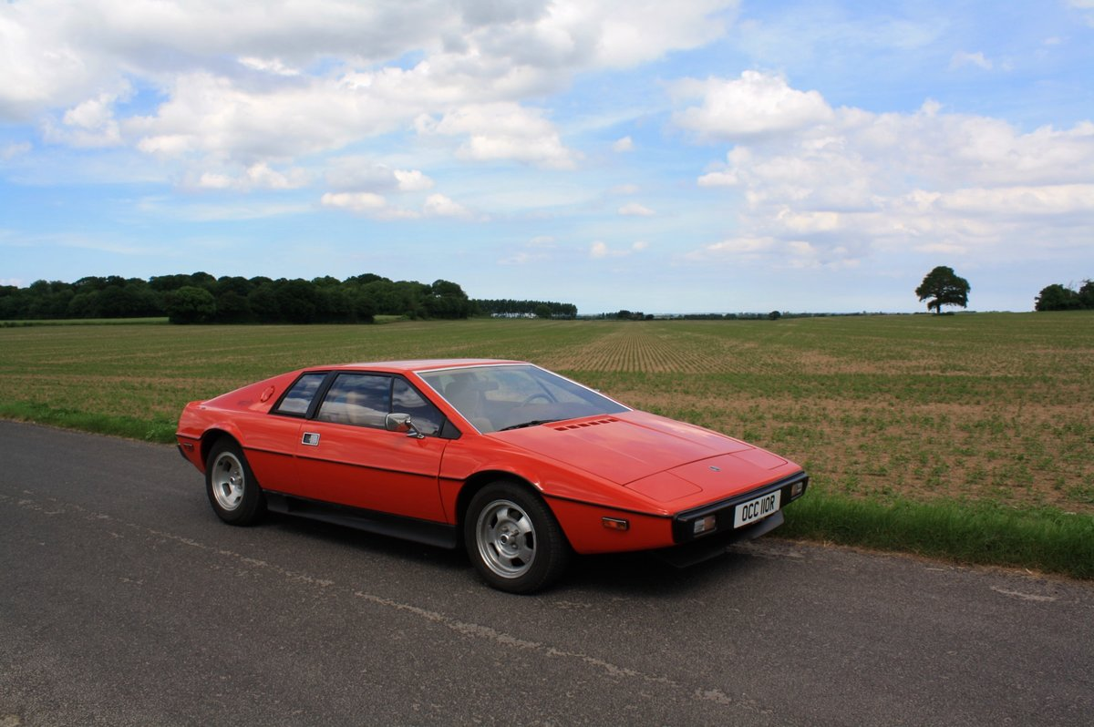 Lotus Esprit S1 LHD, 1977.  23,000 miles from new.  For Sale (picture 1 of 6)