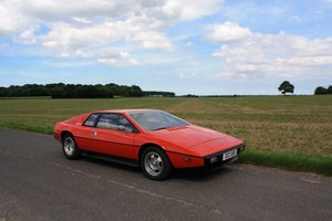 Lotus Esprit S1 LHD, 1977.  23,000 miles from new.