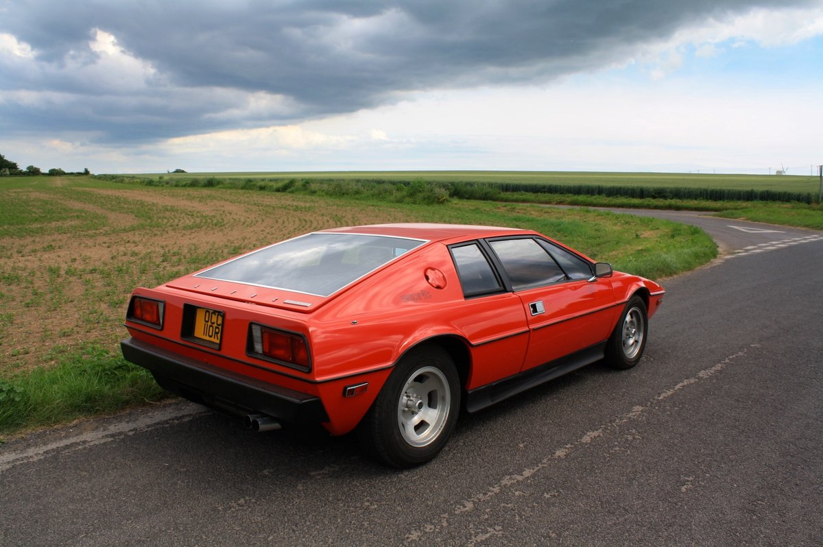 Lotus Esprit S1 LHD, 1977.  23,000 miles from new.  For Sale (picture 3 of 6)