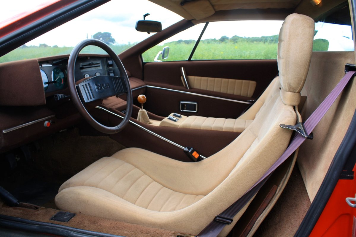 Lotus Esprit S1 LHD, 1977.  23,000 miles from new.  For Sale (picture 5 of 6)