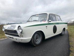 1963 Ford Lotus Cortina MK1 FIA Racecar  For Sale