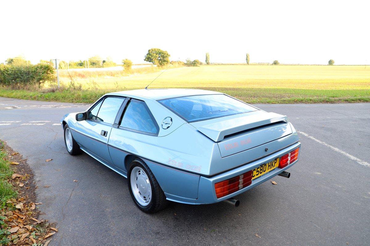Lotus Excel 1986.  Last owner 31 years.  Glacier blue. For Sale (picture 2 of 6)
