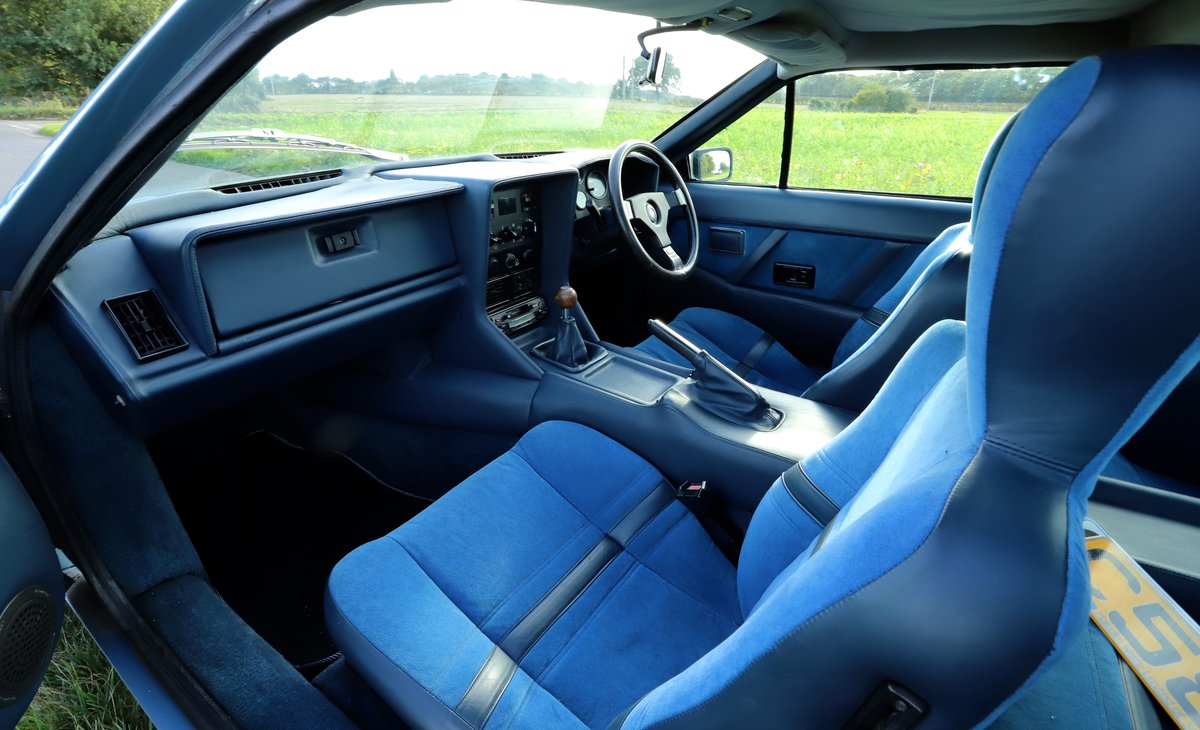 Lotus Excel 1986.  Last owner 31 years.  Glacier blue. For Sale (picture 3 of 6)
