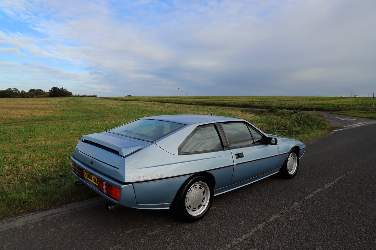 Lotus Excel 1986.  Last owner 31 years.  Glacier blue. For Sale (picture 6 of 6)