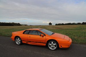 1996 Lotus Esprit GT3 Turbo, 1997.   Fabulous in Chrome Orange. For Sale