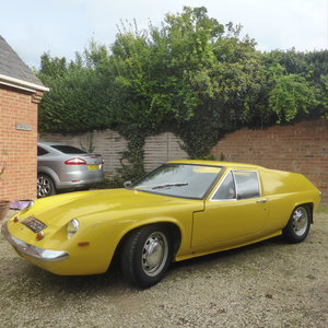 1969 Lotus Europa S2 3 Owners. Fresh MOT. RHD