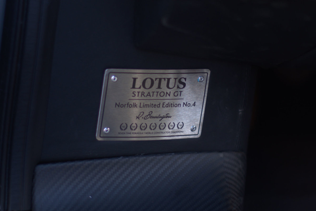 2017 Lotus Evora Stratton GT Limited Edition Car No.3  Vat Q For Sale (picture 14 of 17)
