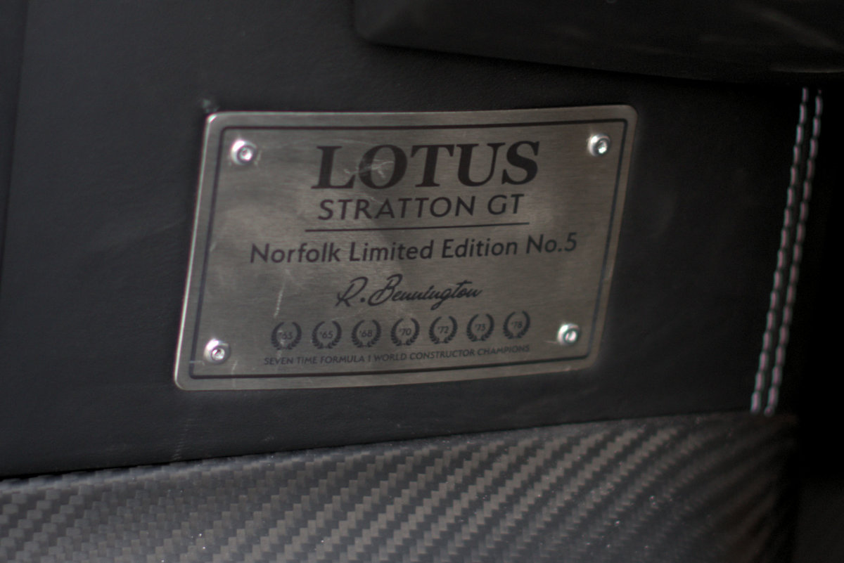 2017 Lotus Evora Stratton GT Limited Edition Car No:5 For Sale (picture 21 of 24)