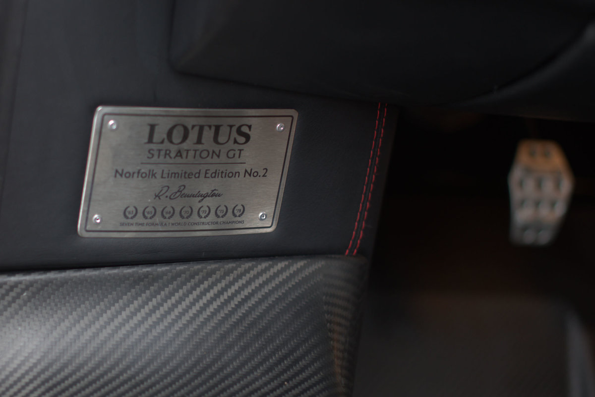 2017 Lotus Evora Stratton GT 2017 SWIZZ BEATS Edition No:2 For Sale (picture 19 of 24)