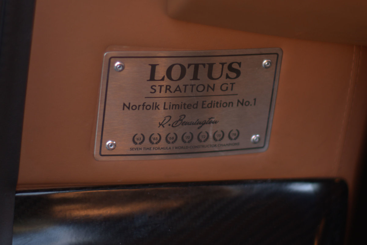 2017 Lotus Evora Stratton GT Limited Edition Car No:1 For Sale (picture 19 of 22)