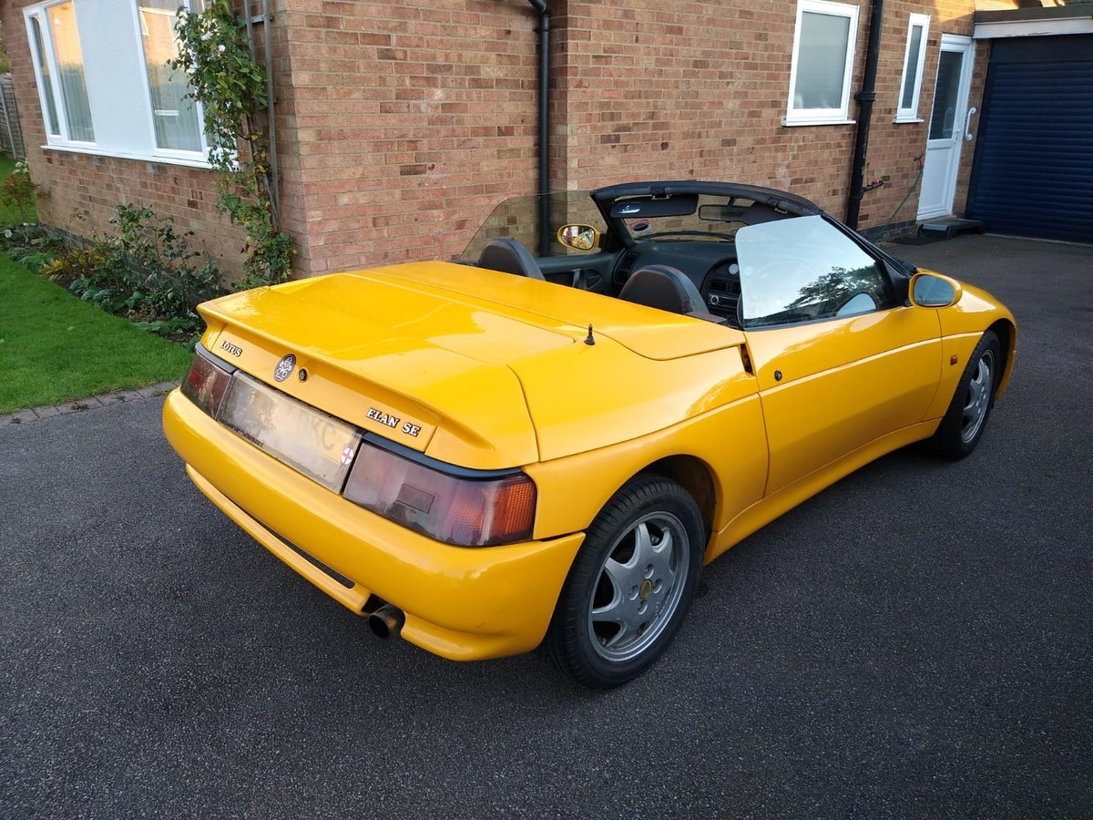 1991 Lotus Elan M100 SE 1.6 turbo For Sale (picture 4 of 6)