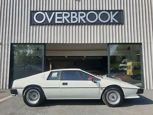 1982 Lotus Esprit S3 ** 23K MILES *ONLY 2 FORMER KEEPERS * E For Sale