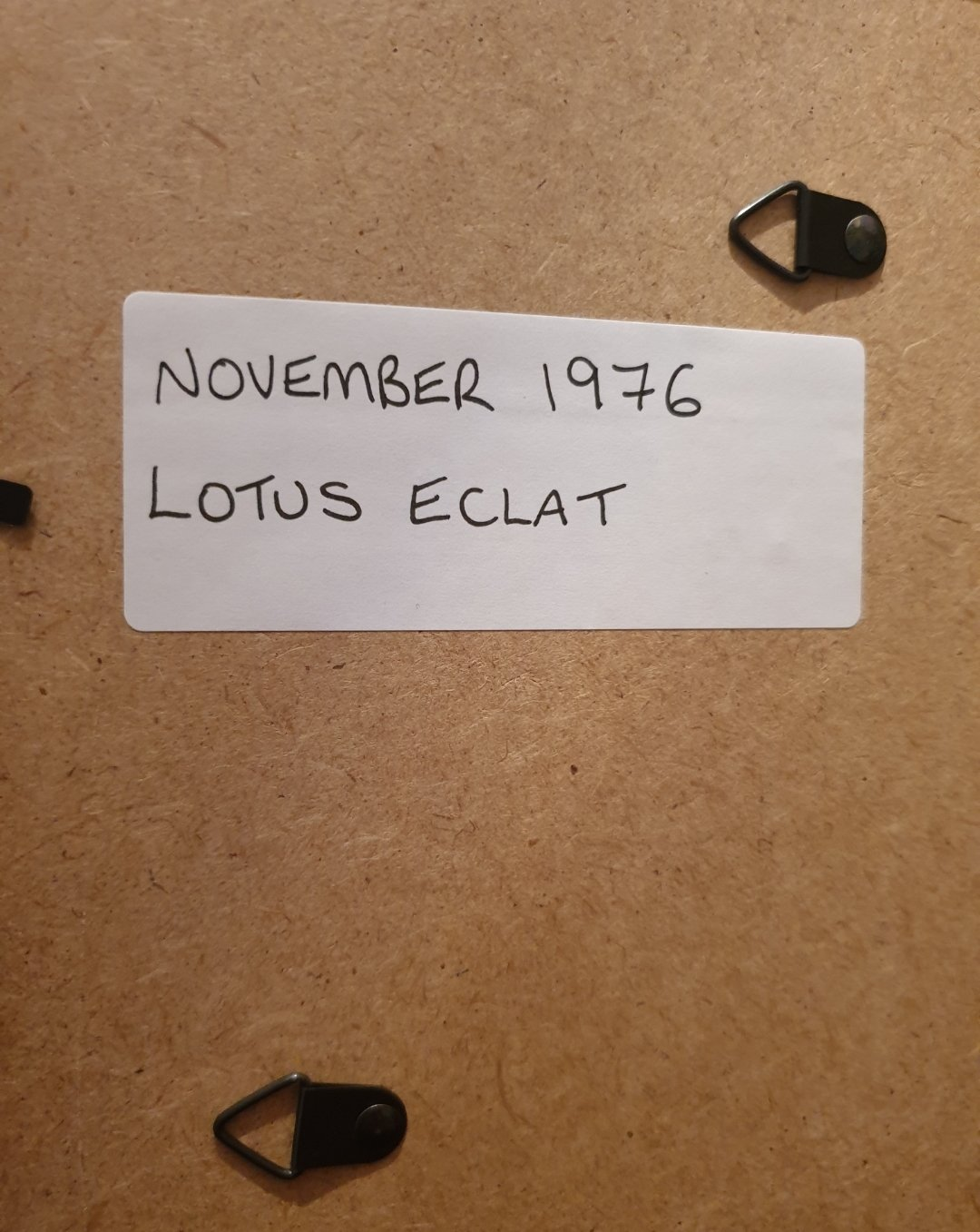 1976 Lotus Eclat Advert Original  For Sale (picture 2 of 2)