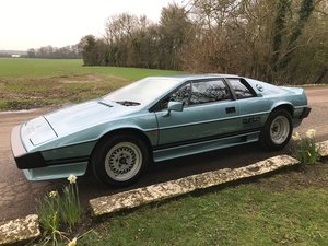 1983 Esprit turbo project.