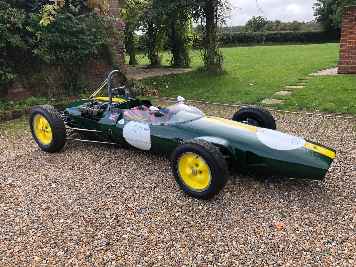 1962 Lotus 22 Out of the Film Grand Prix Formula Libre For Sale (picture 1 of 6)