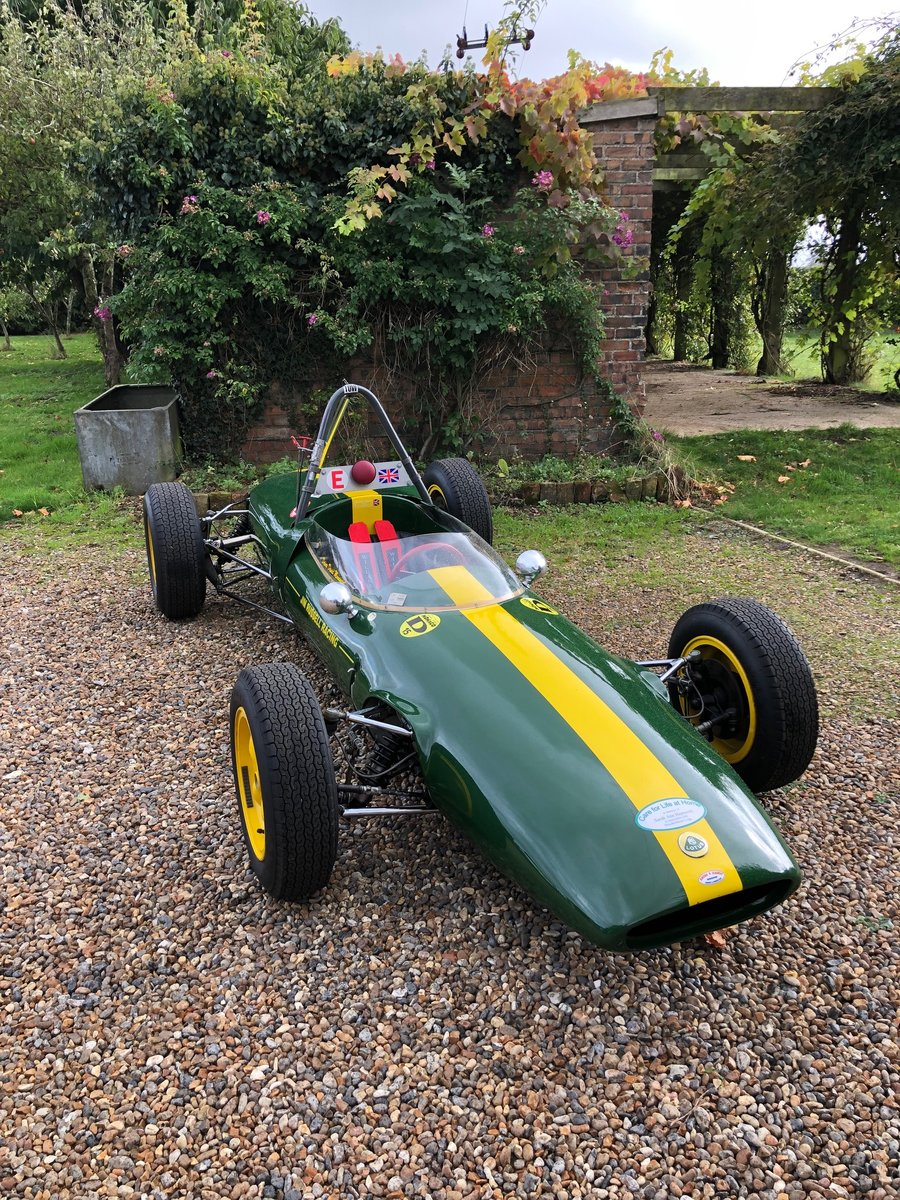 1964 Lotus 31 Formula Three / Formula 3 For Sale (picture 6 of 6)