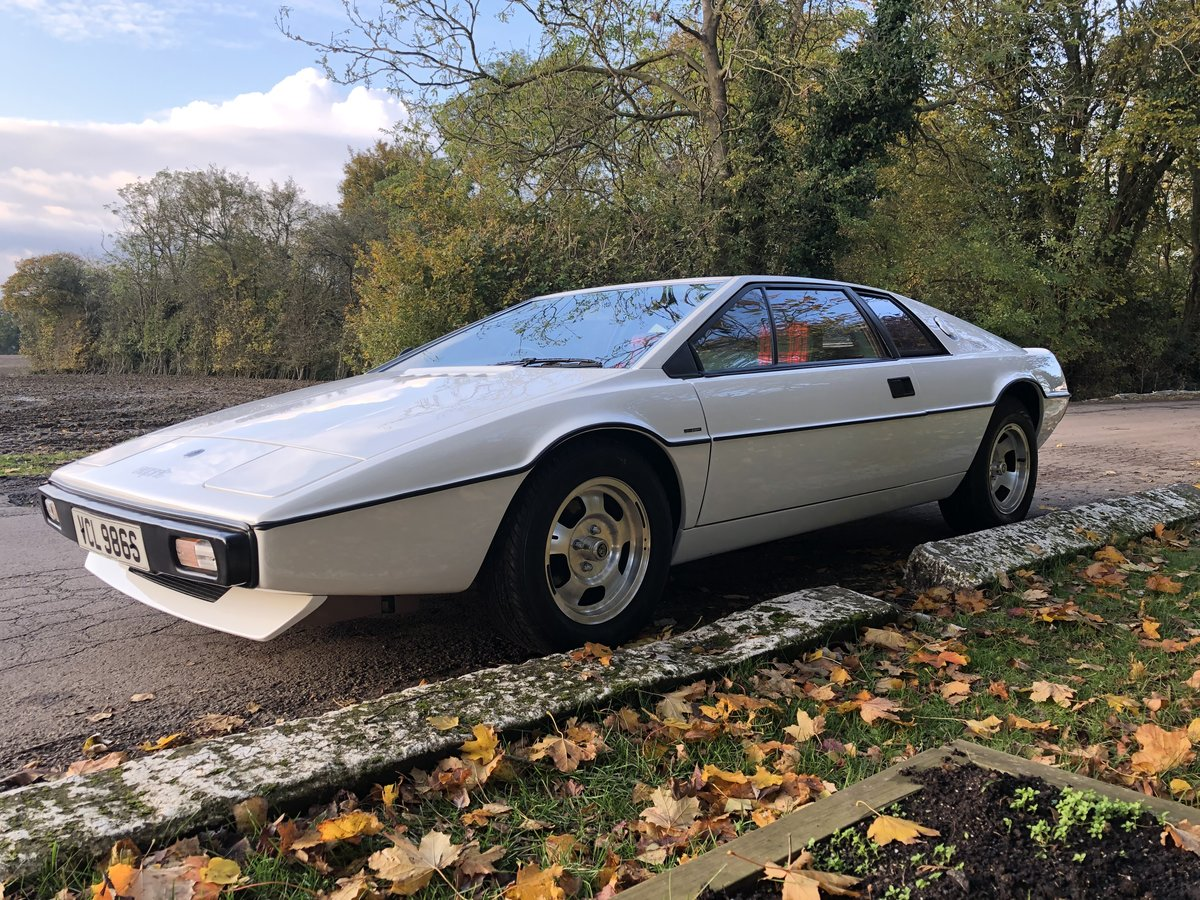 1977 LOTUS ESPRIT S1 For Sale (picture 1 of 6)