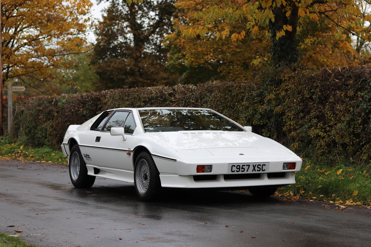 1986 Lotus Esprit Turbo - 1985 Motor Show Car For Sale (picture 1 of 23)