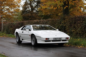 1986 Lotus Esprit Turbo - 1985 Motor Show Car