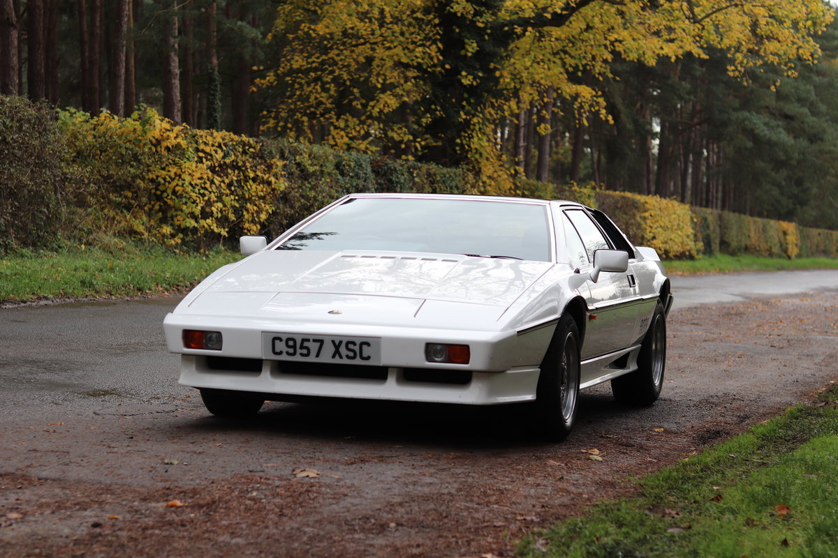 1986 Lotus Esprit Turbo - 1985 Motor Show Car For Sale (picture 3 of 23)