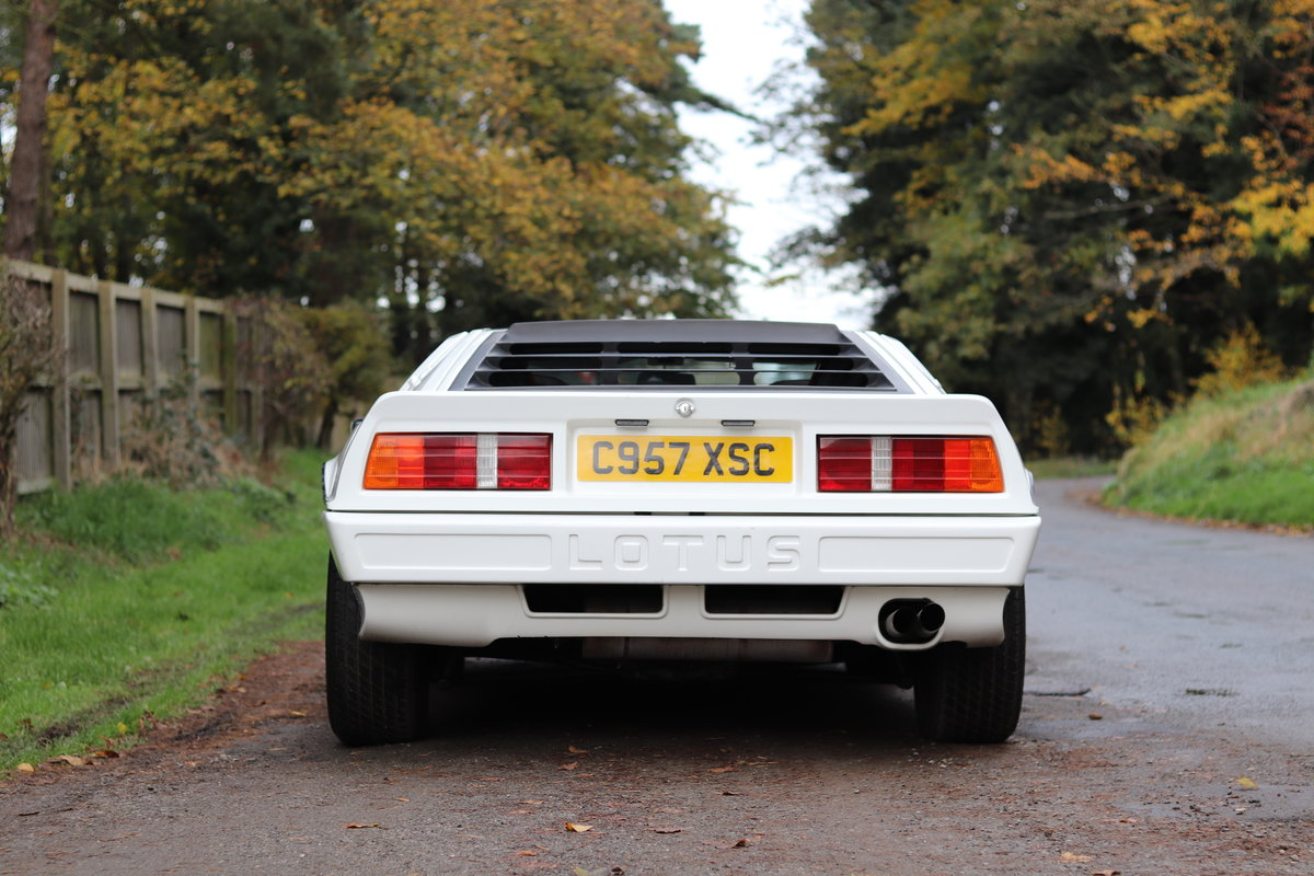 1986 Lotus Esprit Turbo - 1985 Motor Show Car For Sale (picture 5 of 23)