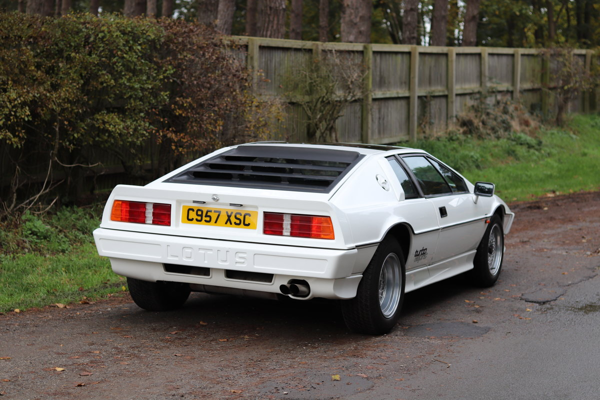 1986 Lotus Esprit Turbo - 1985 Motor Show Car For Sale (picture 6 of 23)