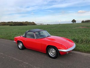 Lotus Elan S4 DHC, 1969.   27,900 miles from new!!  3 Owners For Sale