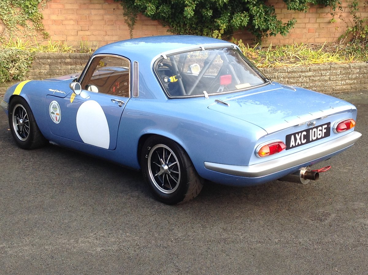 1968 Lotus Elan S3 FHC HSCC Race Car For Sale (picture 5 of 6)