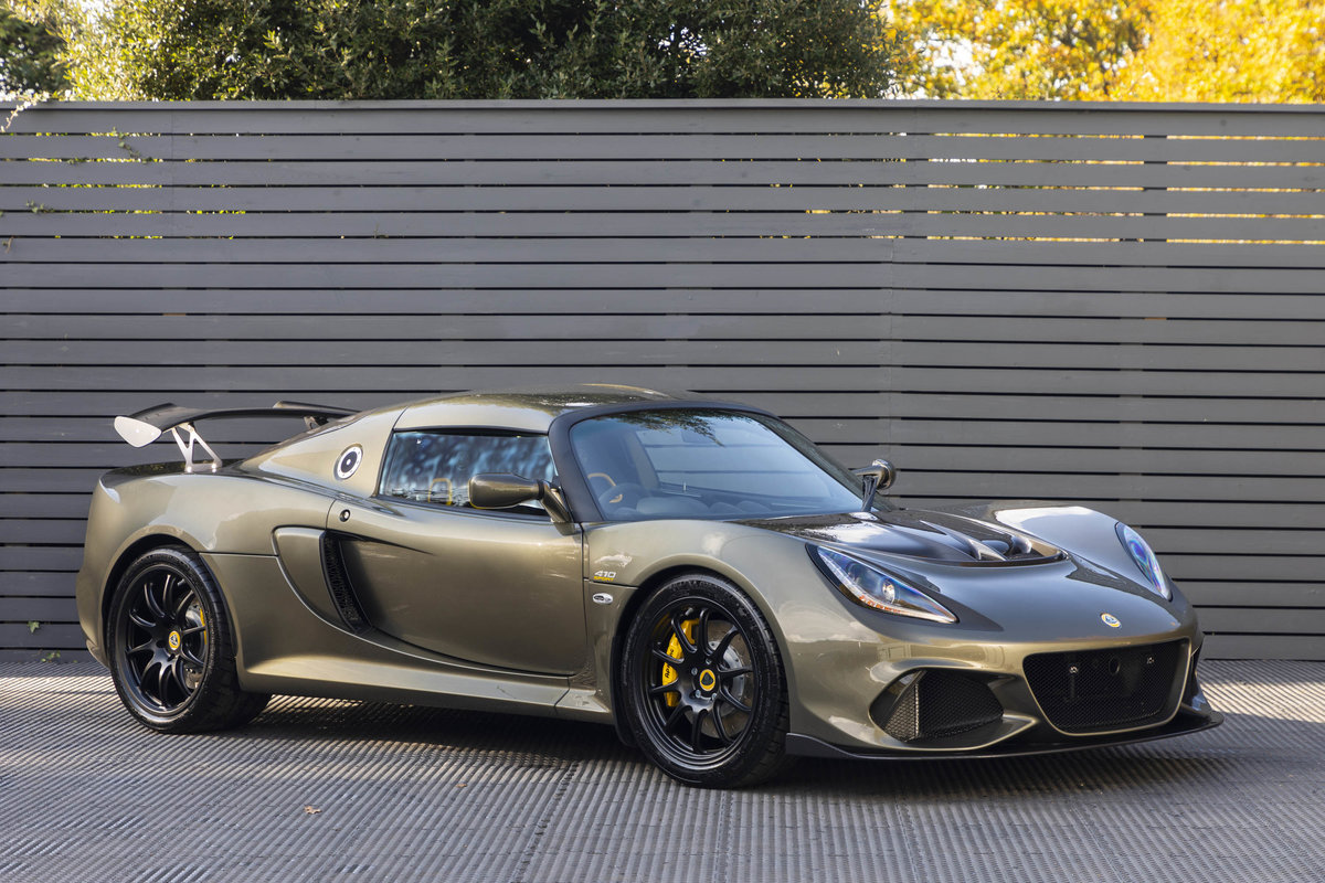2019 LOTUS EXIGE SPORT 410 COUPE - NEW For Sale (picture 1 of 21)
