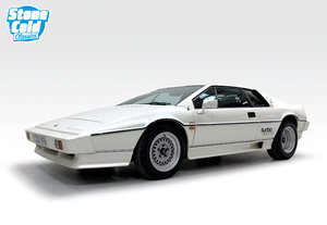 1985 Lotus Esprit Turbo Pearlescent white, immaculate For Sale