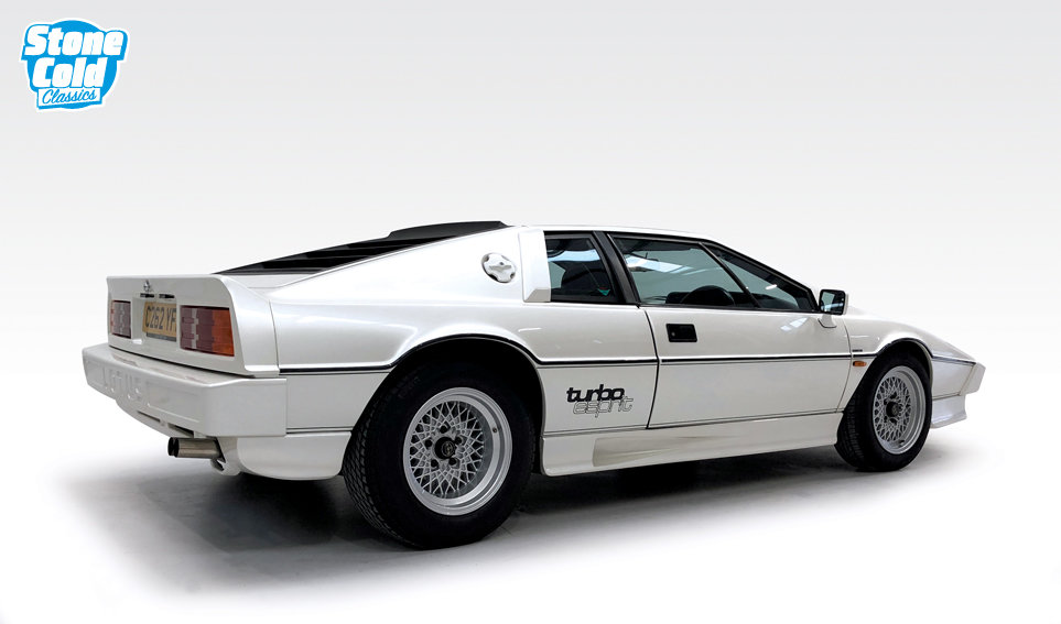 1985 Lotus Esprit Turbo Pearlescent white *DEPOSIT TAKEN* SOLD (picture 2 of 10)