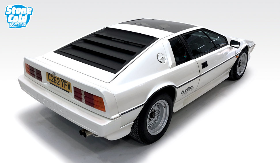 1985 Lotus Esprit Turbo Pearlescent white *DEPOSIT TAKEN* SOLD (picture 3 of 10)