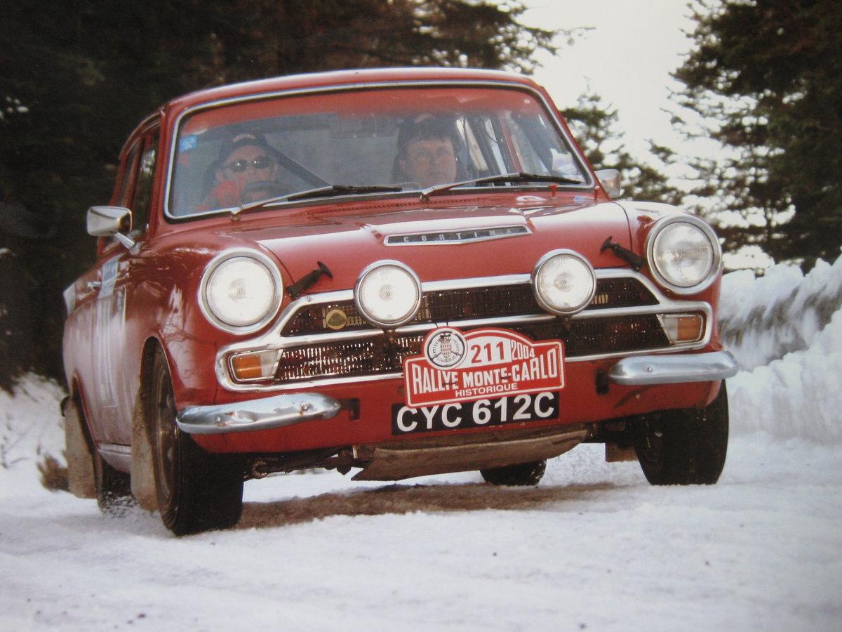 1965 FIA Lotus Cortina For Sale (picture 1 of 6)