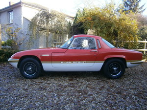 LOTUS ELAN SPRINT 1972 FHC FULLY RESTORED BY MICK MILLER For Sale