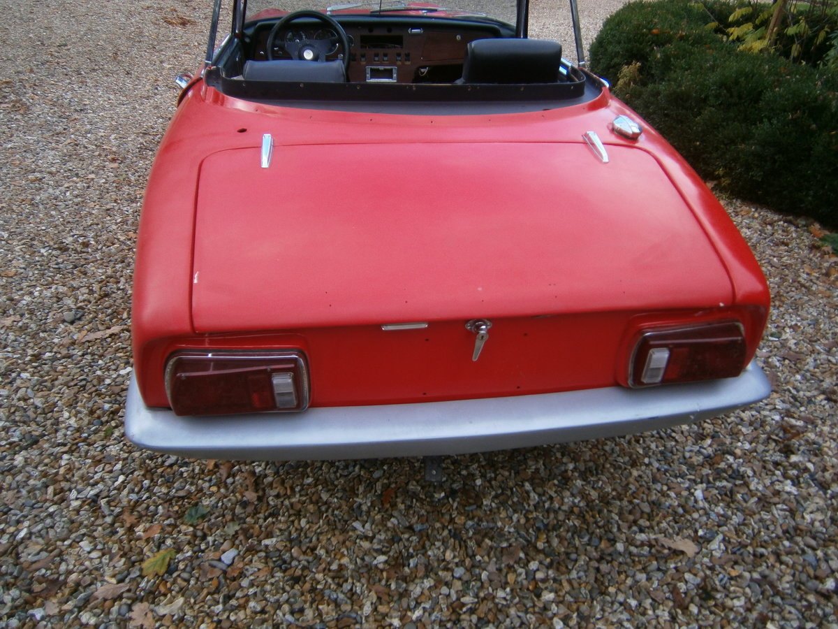 LOTUS ELAN S4 LHD DHC COMPLETE CAR LESS ENGINE 1971 *SOLD* For Sale (picture 2 of 6)