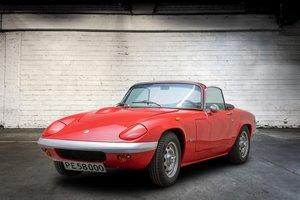 1968 Lotus Elan S4 SE Cabriolet