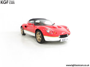 2000 A Very Collectable Lotus Elise S1 Type 49 with 9,631 Miles. For Sale