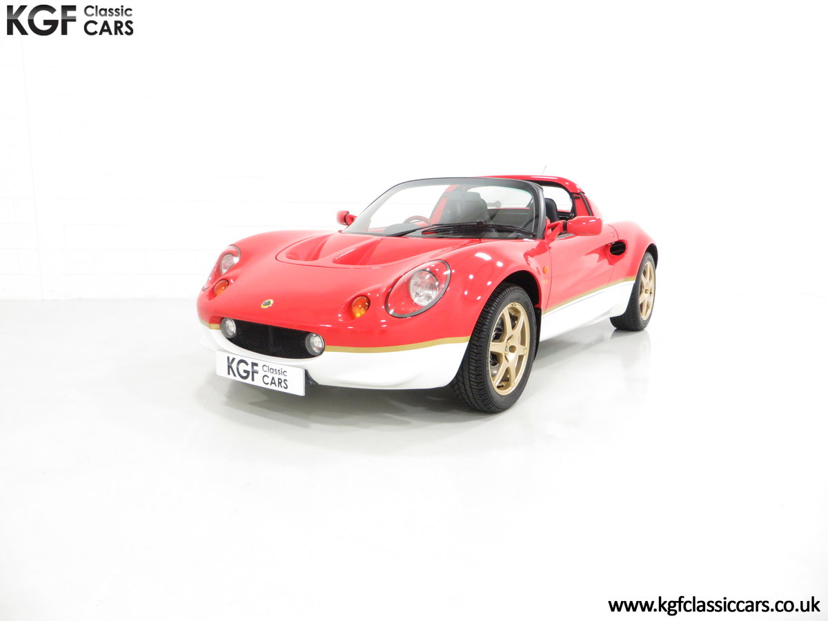 2000 A Very Collectable Lotus Elise S1 Type 49 with 9,631 Miles. SOLD (picture 2 of 6)