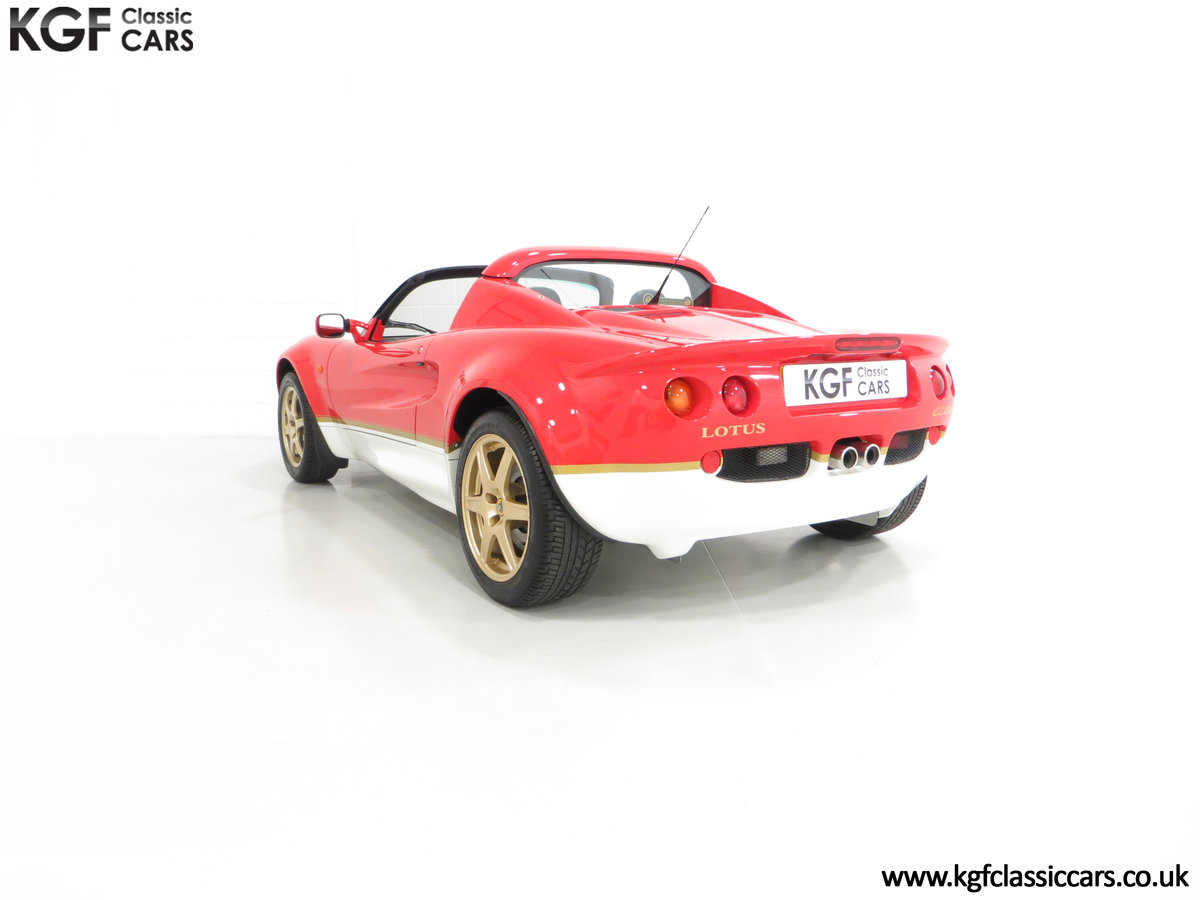 2000 A Very Collectable Lotus Elise S1 Type 49 with 9,631 Miles. SOLD (picture 4 of 6)