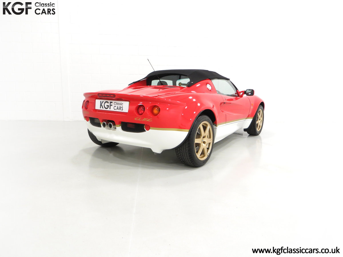 2000 A Very Collectable Lotus Elise S1 Type 49 with 9,631 Miles. SOLD (picture 5 of 6)