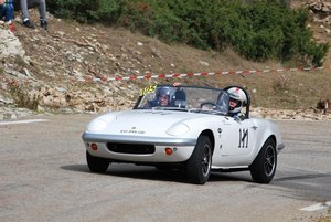 1965 Lotus Elan Bahamas winner car