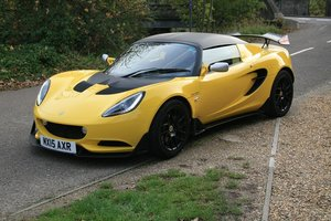 2015 Lotus Elise S Cup SOLD